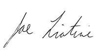 Joe Liotine signature