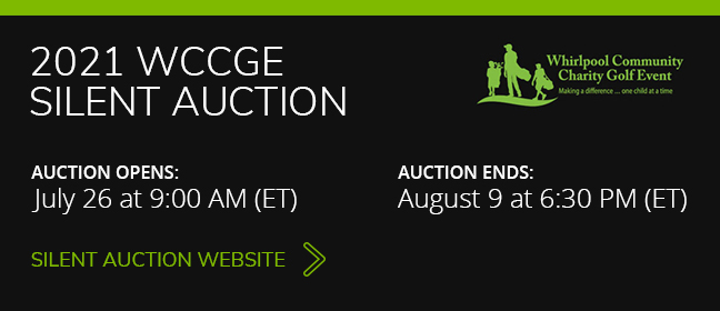 Silent Auction opens July 26 at 9am and ends August 9 at 6:30p